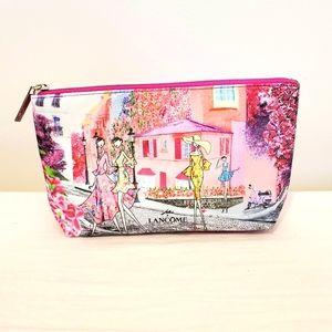 Lancome Hot Pink Art Makeup Bag